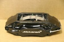 GENUINE OEM ORIGINAL MCLAREN LEFT FRONT BRAKE CALIPER BLACK 11C0735CP BG