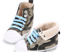 Newborn Baby Boy Girl High Top Booties Infant Boots Toddler Trainers 0-18 Months
