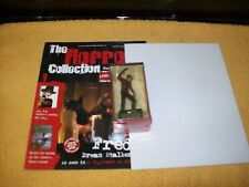 eaglemoss freddy kruger with magazine and poster