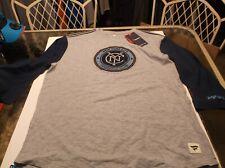 New York City FC MLS Team apparel shirt  by Fanatics L