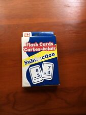 52 Subtraction Flash Cards (Made in Taiwan)