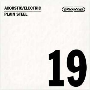Jim Dunlop Plain Steel .019 Single Guitar String