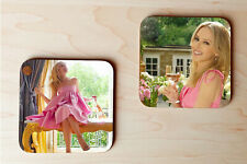 More details for kylie minogue coasters set of 2 (kylie wine).