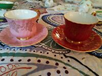 Sutherland H&M Bone China  Cup and Saucer Sets ~ 2