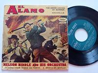"""EL ALAMO OST Nelson Riddle SPAIN 7"""" VINYL EP 1961"""