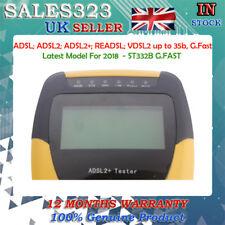 Digital ST332B G. rapides ADSL; ADSL 2; ADSL 2+; readsl; VDSL 2 Network Meter Testeur-NEUF