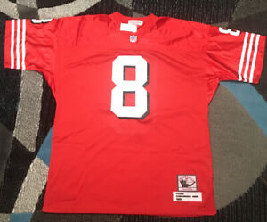 Mitchell & Ness Throwback Jersey 1985 NFL Steve Young 49ers Sz 52 Red
