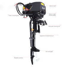 New listing Outboard Trolling Motor 48V 5Hp Electric Fishing Boat Engine 1200W Propeller Us