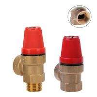 Brass Safety Valve Drain Relief Swithch For Solar Water Heater Inner&Outer Wire