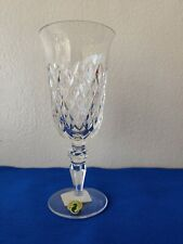 """New Waterford Crystal Champagne Goblet Wine Glass 8"""" Inches Tall single large"""