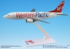 Flight Miniatures Western Pacific Boeing 737 Standard Desk 1/200 Model Airplane