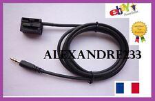 Cable auxiliaire aux adaptateur mp3 iphone autoradio BMW Série 5 E60 , E61