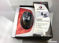 Targus Mouse AMW14EU Maus, 8-Button Laser Wireless Mouse, USB, NEU, OVP