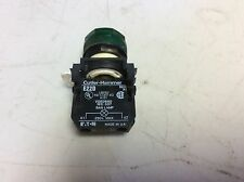 Cutler Hammer Eaton E22D Green Illuminated Button 250 V Max