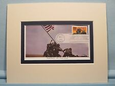 US Marines Raise the Flag on Iwo Jima & First Day Cover in its honor