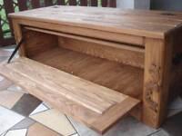 Wooden Shoe Box Cupboard Cabinet Rack Hallway Pine Storage Seating Bench (MR3)
