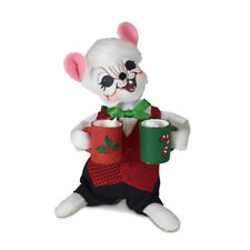 Annalee Dolls 2021 Christmas 6in Holiday Cheer Cocoa Mouse Plush New with Tag