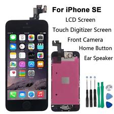 Full Set LCD Touch Screen Digitizer Assembly Replacement for iPhone SE Black