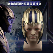 Movie Avengers 4 Endgame Thanos Cosplay Helmets Masks Cool PVC Props Halloween