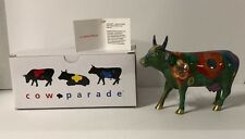 Westland Cow Parade Collectible Figurine #9200 (LA VACHE EFFIEURE) 2001 NEW