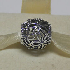 New Authentic Pandora Charm 790890 Wildflower Walk Bead Box Included