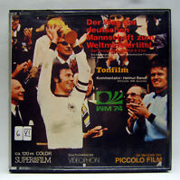 Piccolo Film 2832, Super 8, Farbe, Ton, 120 m, Fußball Weltmeisterschaft WM 1974