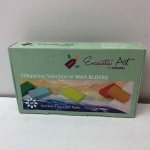 Encaustic Art Wax 16 Wax Block Colors ENHANCING Selection New in Box Painting