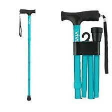 Folding Cane by Vive Walking Cane Collapsible Lightweight Stable Safety Support
