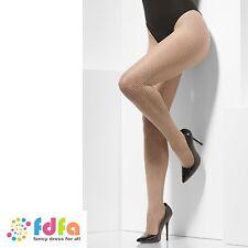 Nude collants résille taille unique femme accessoire robe fantaisie