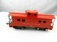 AMERICAN FLYER S GAUGE 638 RED CABOOSE LINK COUPLERS