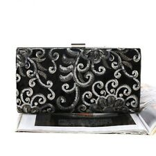 High Quality Women Embroidery Clutch Chain Shoulder Purses Fashion Evening Bags
