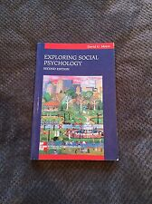 Exploring Social Psychology by Myers (Paperback, 2000)