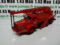 CP41D POMPIERS 1/43 altaya IXO Magirus berliet TBO15 camion-grue 15 tonnes