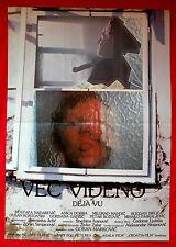 REFLECTION 1987 HORROR NADAREVIC MANDIC DOBRA DIKLIC BOZOVIC EXYU MOVIE POSTER