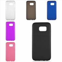 New Rubber Soft TPU Gel Soft Skin Phone Case Cover For Samsung Galaxy S7 Edge