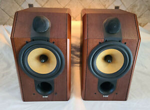 B&W CDM-1 Special Edition Rosewood Speakers (pair) - EXCELLENT