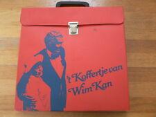 LP RECORD VINYL 2 LP BOX SET 'T KOFFERTJE VAN WIM KAN AND BOOK 40 JAAR MET CORRY