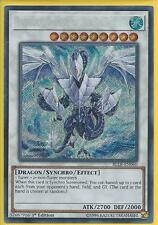Yugioh Card - Trishula, Dragon of the Ice Barrier *SCR* BLLR-EN060 (NM/M)