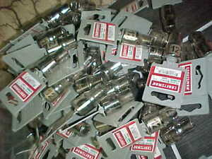 """LOT OF 25 Craftsman 1/2"""" Drive 12MM  6pt Shallow Socket  E Z READ ETCHED"""