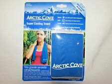 Artic Cove Super Cooling Towel With Chillstitch Technology Blue Snap 14.5 X 36