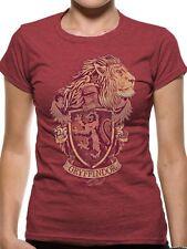 Harry Potter Gryffindor Mens T-Shirt Licensed Top Red M
