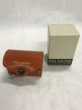 Polaroid close up lens kit 540 leather case in original box  Camera