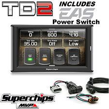 Superchips TrailDash2 TD2 42050 Tuner Programmer Monitor w/Power Switch Jeep JK