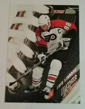 1996-97 LEAF LEATHER AND LACES #10 ERIC LINDROS SN /5000