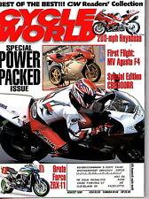 Cycle World AUG 1999  Motorcycle Honda