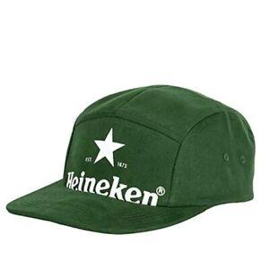 (TG. Taglia unica) Verde scuro Cappello Heineken Verde, Cappellino da (GUM)