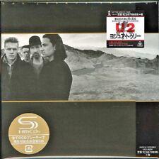 U2 - THE JOSHUA TREE ; RARE Japanese-only SHM-CD Mini-LP Card Sleeve ; New & Sea