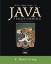 Introduction to Java Programming by Y. Daniel Liang (2012, Paperback / Mixed...
