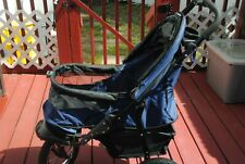 Pet Gear Jogger No-Zip Pet Stroller - Midnight Blue - Up To 40Lbs Weight