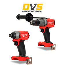 Milwaukee M18FID2-0 Impact Driver and 3rd Gen FUEL M18FPD2-0 Percussion Drill